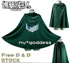 New Anime Shingeki No Kyojin Cloak Cape Unisex Costumes Cosplay Attack On Titan