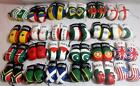 Leather Look 9cm Mini Pair Of Boxing Gloves World Flags Car Van Accessory Gift