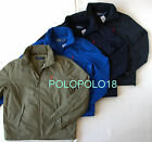 New Polo Ralph Lauren Pony Perry Jacket Polyester Fleece Lined M L XL 2XL