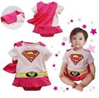 Baby Toddler Fancy Dress Party Superman Animal Costumes Playsuit Size 0-24months