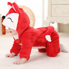 Baby Toddler Jungle Animal Cartoon Costumes Fancy Dress Playsuit Size 3-24months
