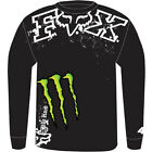 FOX RACING MONSTER RC REPLICA CHOP #4 RICKY CHARMICHAEL LONG SLEEVE T-SHIRT NEW