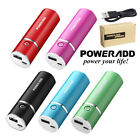 Poweradd 5000mAh USB External Battery Charger Portable Powre Bank For Cell Phone