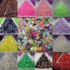 Wholesale (About 2000pcs) Acrylic Flatback AB color Bead Nail Art Craft 3mm