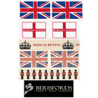 Berisfords Ribbons Chic Great Britain, English, British, Union Jack, St Georges