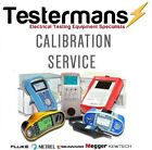 Megger PAT Tester Calibration Service - Includes various Service Level Options