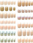 36 Loose Full Cover Nails French Tip Nail Tips With 2g Glue and Tabs