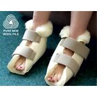 WOOL FLEECE BOOTEES PURE WOOL FOOTCARE AND DISABILITY AIDS