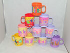 PERSONALISED NAME PLASTIC CUP / MUG WITH HANDLE VARIOUS NAMES AVAILABLE