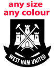 WEST HAM FOOTBALL CLUB  WALL ART BEDROOM TOY VINYL STICKER DECAL 091