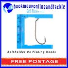 50 x Bait Holder Hooks Chemically Sharpened in Different Sizes