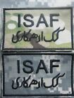 U.S. ARMY AUFNÄHER PATCH INTERNATIONAL SECURITY ASSISTANCE FORCE ISAF MULTICAM /