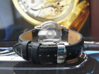 QUALITY THICK REPLACEMENT DEPLOYMENT LEATHER STRAP BAND FOR RAYMOND WEIL WATCH