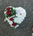 Funeral Wreath  Heart   Free local delivery In Thurrock Grays / Tilbury