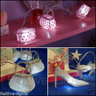 10 LED BATTERY OPERATED NOVELTY FAIRY STRING LIGHT WEDDING BEDROOM WHITE & PINK
