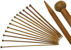 18 pairs (36) Carbonised Bamboo Single Pointed Knitting Needles UK Seller UK ...