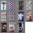 New Cool Pattern Prints Hard PC Case Cover Back Protective f Apple iPod touch 4