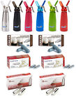 N2O NOS NOZ Nitrous Oxide Cream Chargers + 1/4L Dispenser Whippers FREE DELIVERY