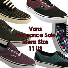 SIZE 11 US MENS VANS CLEARANCE SHOES/SNEAKERS/CASUAL/SKATE/FASHION