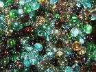 Mini Glass Pebbles / Nuggets / Stones / Beads - Various Colours Available