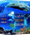 JEAN-MICHEL COUSTEAU'S FILM TRILOGY IMAX 3D BLU-RAY 3-DISC SET NEW REGION-FREE