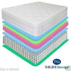 "NEW 13"" NIGHT THERAPY DELUXE EURO BOX TOP SPRING MATTRESS FULL QUEEN KING"