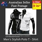 Men's Polo Shirts Stylish Vintage designer Sexy Slim Casual Wear
