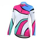 New Women's Cycling Jersey Bike Bicycle Comfortable Long Sleeve Outdoor Shirts