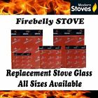 Firebelly Replacement Stove Glass - Heat Resistant