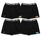 4 X Pack Frank and Beans Boxer Shorts S M L XL XXL L Size Mens Underwear