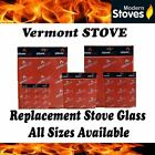 Vermont Replacement Stove Glass - Heat Resistant