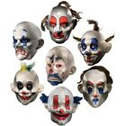 Joker Clown Mask Adult Mens The Dark Knight Halloween Costum