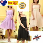 Girls Party Formal Dress Size 10, 11, 12, 14 ♥ Lilac ♥ Beige ♥ Black ♥