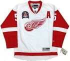 NICKLAS LIDSTROM DETROIT RED WINGS 1997 CUP REEBOK PREMIER WHITE JERSEY