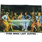STAR WARS funny Last Supper Men's T-SHIRT yoda darth vader boba fun tee S-XL