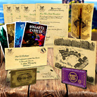 Harry Potter PERSONALISED Hogwarts Acceptance Letter + Maps, Spells + MORE New