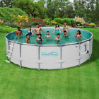 metal frame wading pool - Pro Series Soft Sided Metal Frame Above Ground Swimming Pool Packages