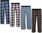 BOYS PYJAMA BOTTOMS LOUNGE PANTS CHECKED EX-STORE 4-14 YEARS NEW