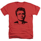 James Dean Icon Movie Actor Dean Adult Heather T-Shirt Tee