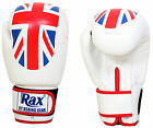 RAX Boxing gloves sparring training fight punch bag mitts muay thai MMA 4 -16oz