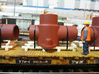 SCRATCH BUILT CUSTOM INDUSTRIAL PIPE LOAD 4 O SCALE FLATCAR OR INTERMODAL LAYOUT