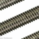 MARINE GRADE A4 Stainless Steel Threaded Metre Bar - Rod Studding - DIN 976