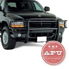 Fits+2000%2D2004+Dodge+Dakota+Grille+Grill+Bumper+Brush+Guard+Push+Crash+Bar+Black