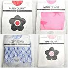 MARY QUANT Vintage Stockings Hold Ups Red Blue Pink Lace Flocked NEW BNWT