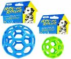 JW HOL-EE ROLLER DOG BALL TOY agility non squeak lattice rubber puppy toys