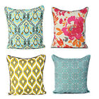 """New Printed 100% Cotton Decorative Cushion Covers Pillow Case Size: 20""""x 20"""""""