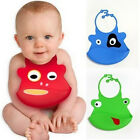 Newest Fun Silicone Characters Bib Baby Infant Kid Cartoon Waterproof Bibs
