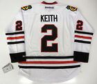 DUNCAN KEITH CHICAGO BLACKHAWKS REEBOK NHL PREMIER AWAY JERSEY NEW WITH TAGS