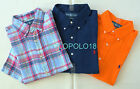 New Polo Ralph Lauren Pony Linen Shirt Short Sleeve XL