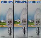 PHILIPS ECOCLASSIC CANDLE SES E14 LIGHT BULBS18W 25W 28W 40W 42W 60W DIMMABLE